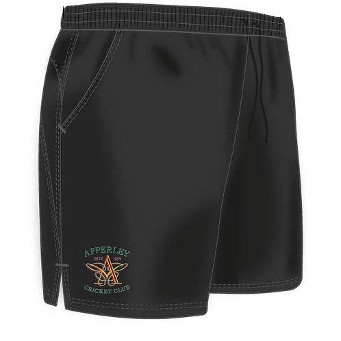 Shorts (H671) Black  - Apperley CC