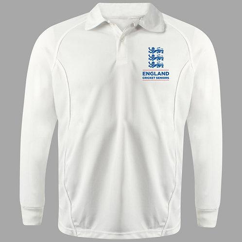 Cricket Shirt Long Sleeve (H2) - England