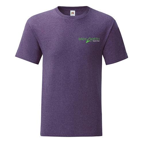 T Shirt Junior cotton, (61023) Purple, Bridgnorth Tennis Club