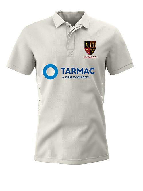 Cricket Shirt S/S (H1) Cream - Shifnal CC
