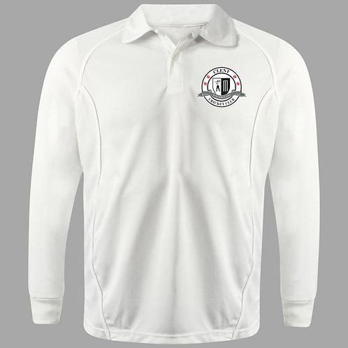 Cricket Shirt Long Sleeve H2  Clent