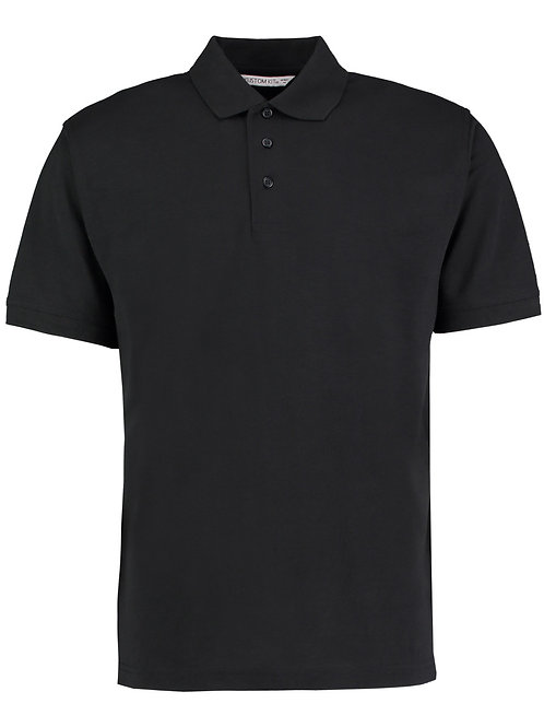 Polo Shirt Black (KK403) Newtown