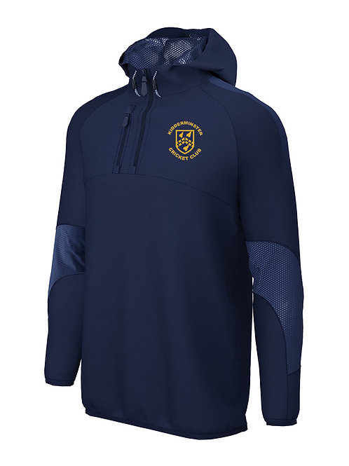 1/4 Zip Shell Jacket (E873) Navy - Kidderminster CC