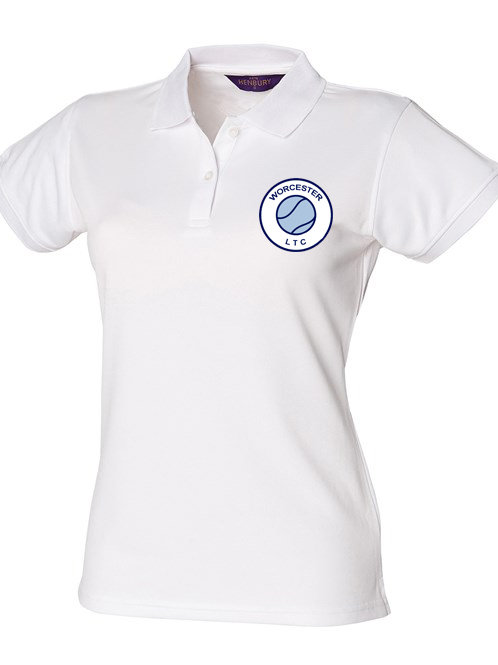 Ladies Polyester Polo Shirt (HB476) Worcester Lawn Tennis Club