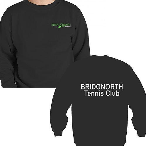 Sweatshirt Senior (RK20) Black, Bridgnorth Tennis Club