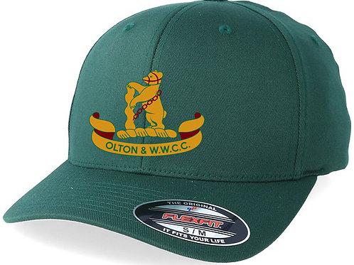 Flexi Fit Cap - Green - Olton & WW CC