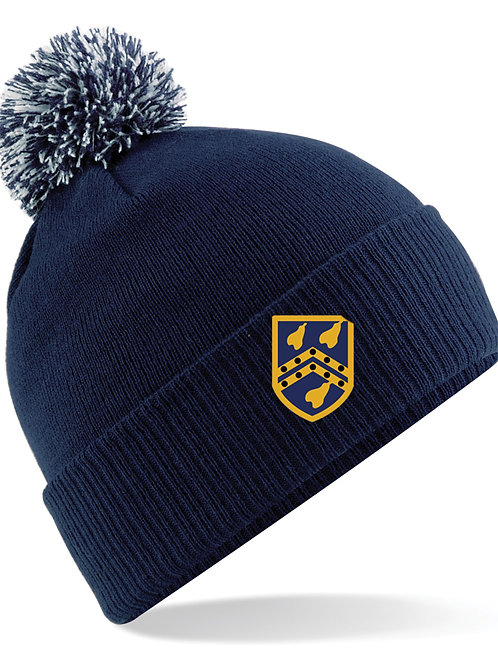 Bobble Hat (B450) Navy - Kidderminster CC