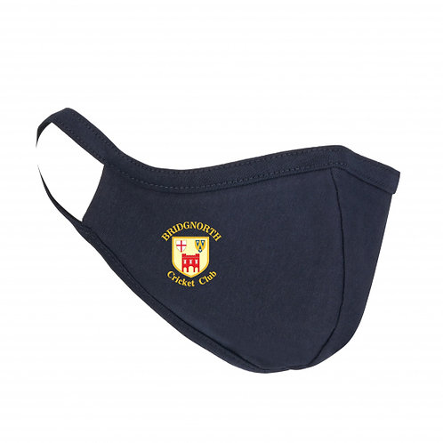 Face Mask - Navy - Bridgnorth CC