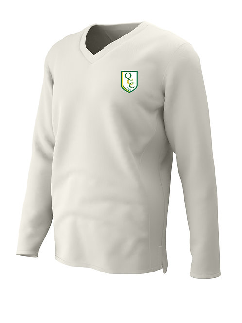 Cricket Sweater Long Sleeve (H7) Cream -  Quatt CC