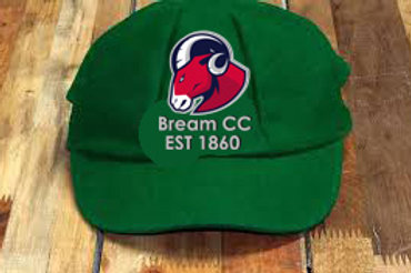 Cricket Baggie Cap - Green - Bream CC