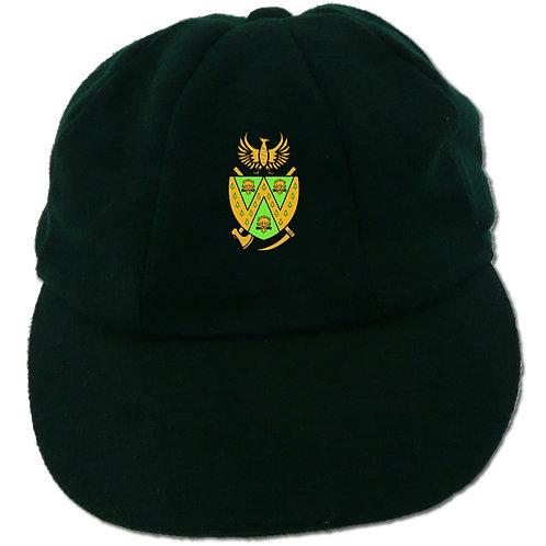 Traditional Cricket Cap - Green - Wem