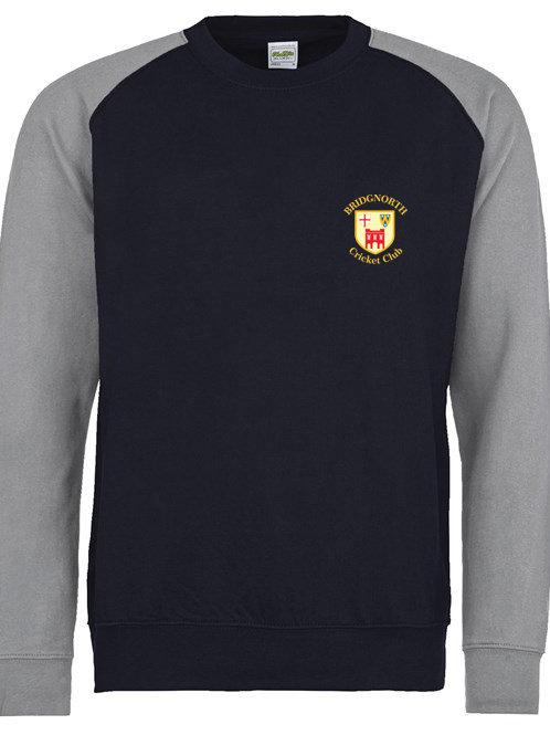 Sweatshirt JHO33 - Navy/Grey - Bridgnorth