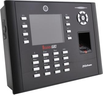 เครื่องสแกนลายนิ้วมือ iClock680