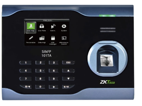 ZKTeco เครื่องสแกนลายนิ้วมือ Fingerscan รุ่น SilkFP-101TA จับลายนิ้วปลอมได้