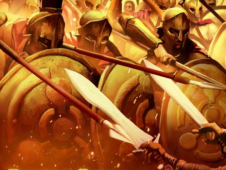 """Ahh-ooh! Ahh-ooh! Ahh-ooh! Lock shields for """"Battle Cry"""""""