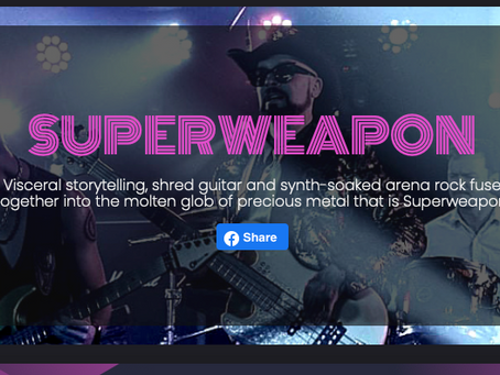 Superweapon picked for The Opening Act contest