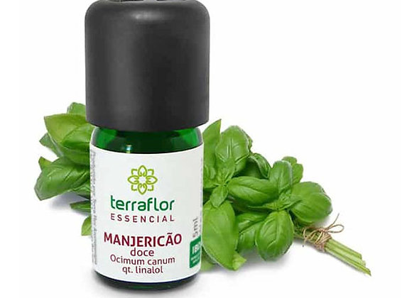 MANJERICÃO DOCE QT. LINALOL 5ML TERRAFLOR