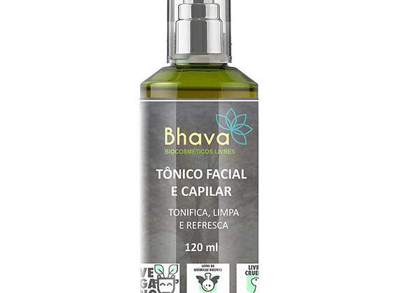 TÔNICO FACIAL E CAPILAR 120ML BHAVA