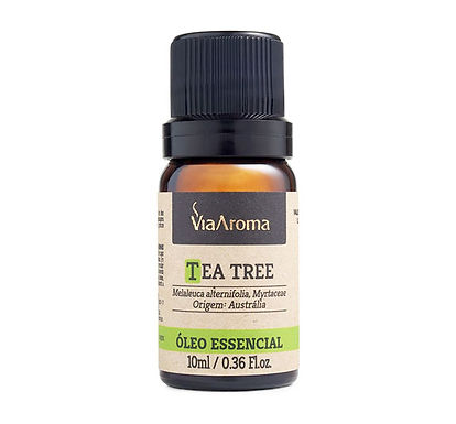 ÓLEO ESSENCIAL 10ML – TEA TREE (MELALEUCA) VIA AROMA