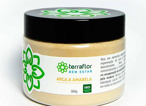 ARGILA AMARELA 300G TERRA FLOR