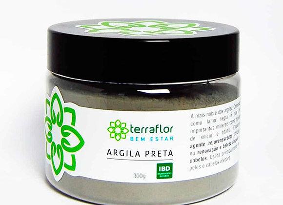 ARGILA PRETA 300G TERRA FLOR