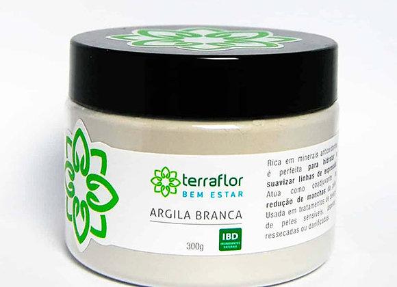 ARGILA BRANCA 300G TERRA FLOR