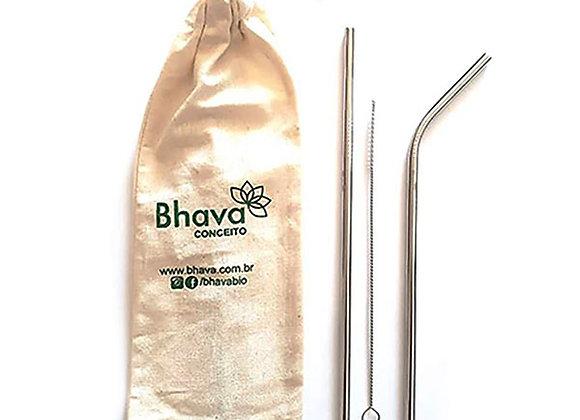 KIT CANUDO ECOLÓGICO DE INOX – BHAVA