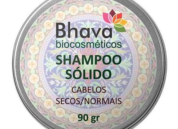 SHAMPOO SÓLIDO NATURAL CABELOS SECOS/NORMAIS BHAVA