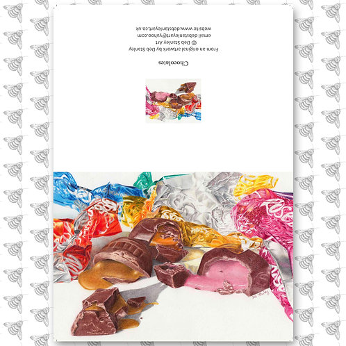 Chocolates - Greeting Card