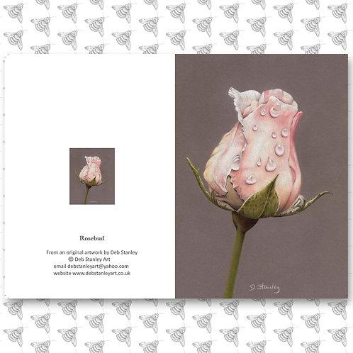 Rosebud - Greeting Card