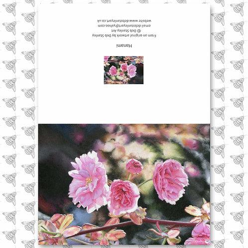 Hanami - Greeting Card