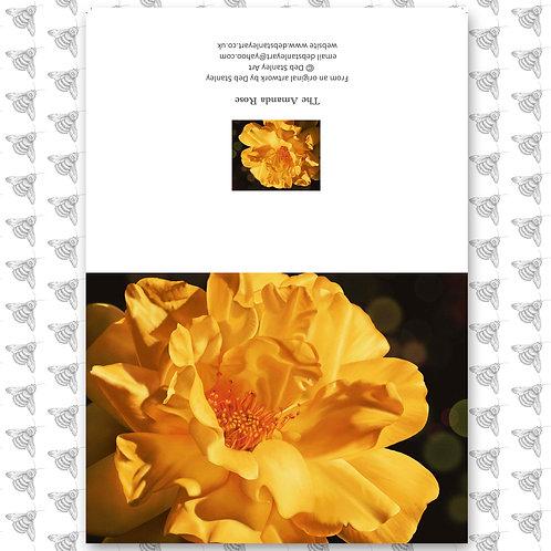 The Amanda Rose - Greeting Card