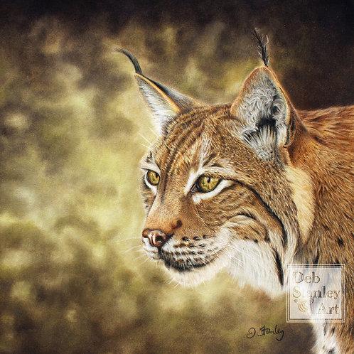 Petra the Lynx- Giclee Print