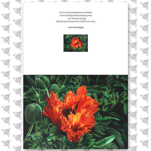 Inflorescence - Greeting Card