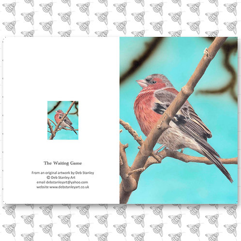 The Waiting Game - Greeting Card