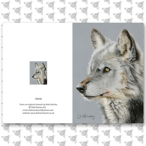 Akela- Greeting Card