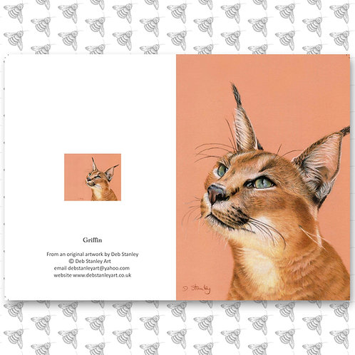 Griffin - Greeting Card