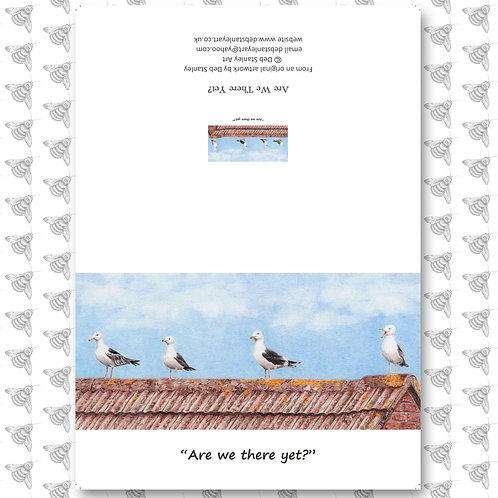 Are We There Yet? - Greeting Card