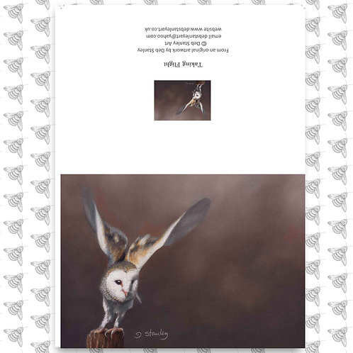 Taking Flight - Greeting Card