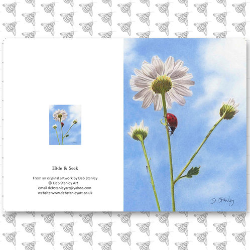 Hide & Seek - Greeting Card