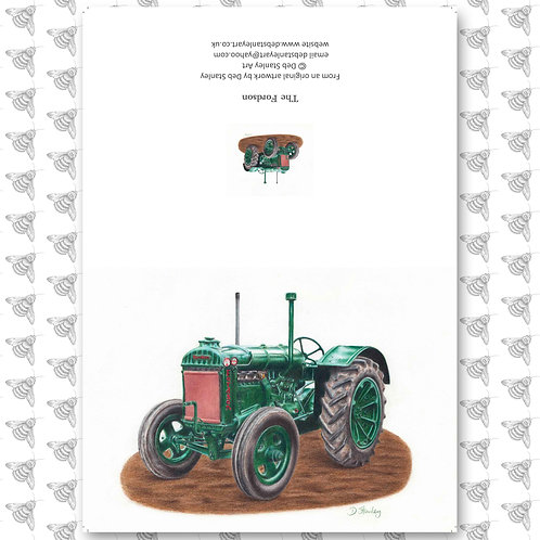 The Fordson - Greeting Card