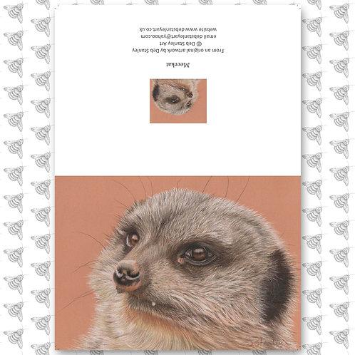 Meerkat - Greeting Card