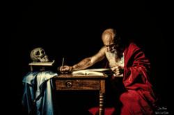 st Jerome ecrivant