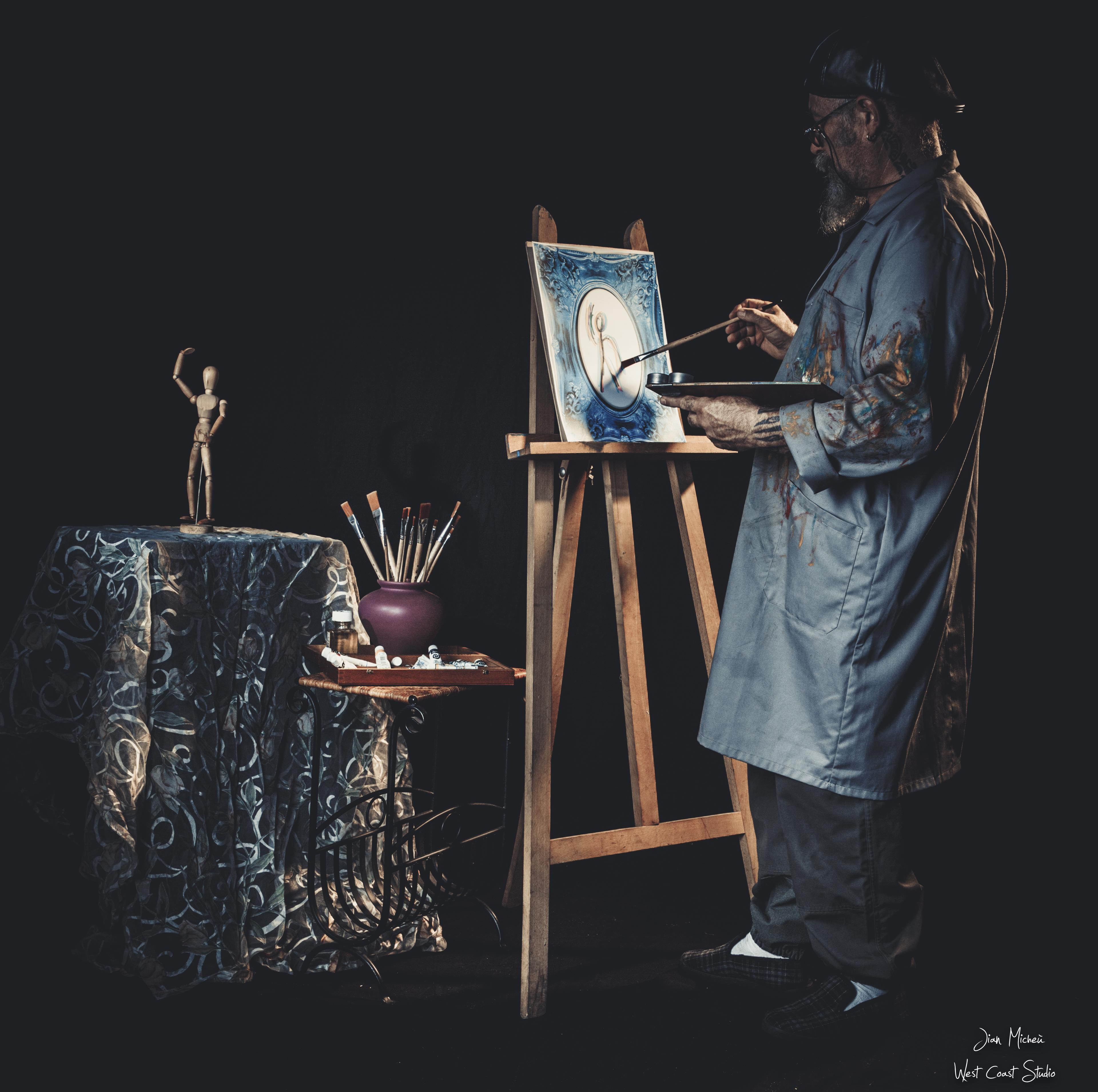 L 'artiste peintre