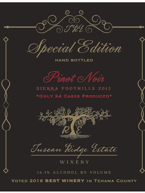 Special Edition Pinot Noir- Award Winning