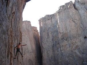 rock climb satiago