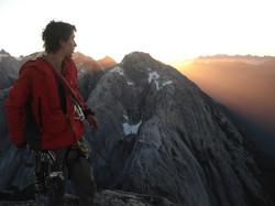Cumbre cerro Trinidad, Cochamó