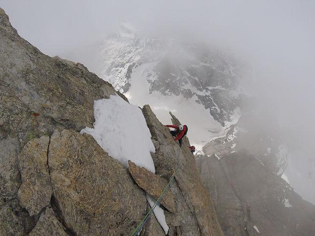 Climbing Indian Himalayan