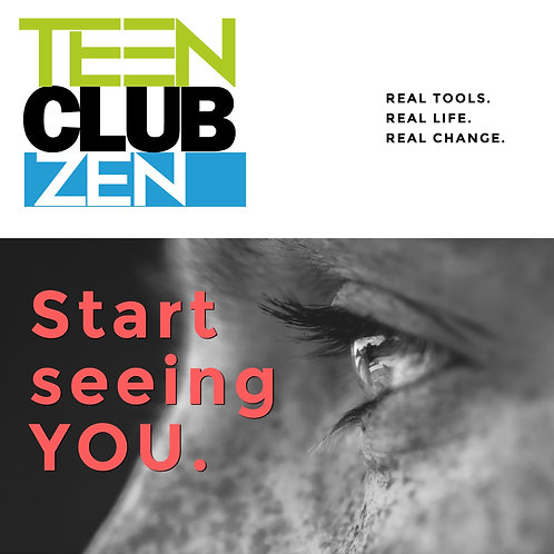 YEARLY HMHB Teen Club Zen, 1-25 Students