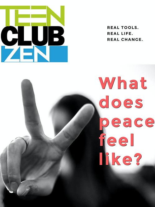Digital HMHB Teen Club Zen, 25 students or less